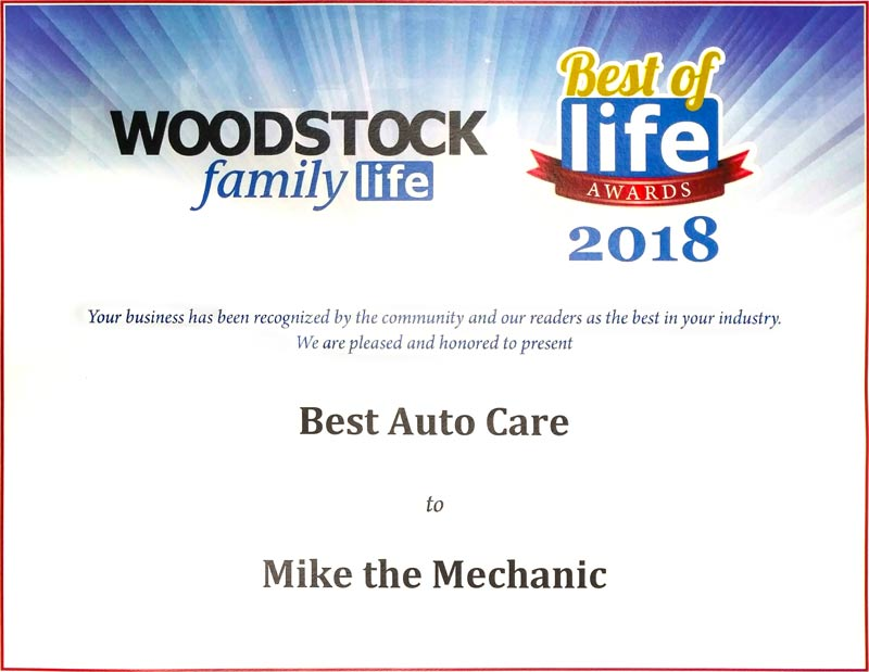 Best of Life Award 2018